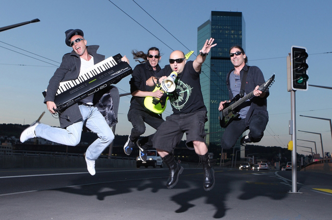 Entertainment / Bandfotos / Fotoshooting