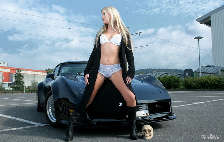 Corvette Girl Shooting