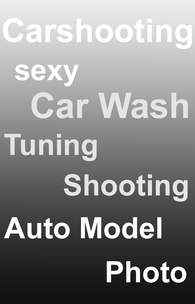 Car-Shooting Model-Photography Car Wash
